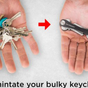 KeySmart Extended Compact Key Organizer (Holds 2-8 Keys) - Ships Same/Next Business Day!