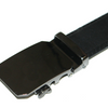 Men's Black Formal Dress Work Leather Ratchet Automatic Sliding Belt - Fits S to XL - Ships Same/Next Day!