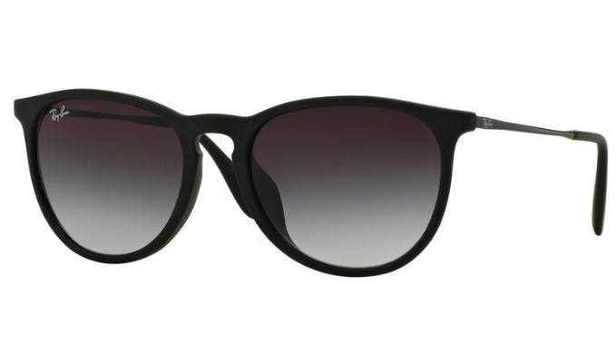 Ray-Ban Erika Black Classic Women's Sunglasses - Ships Same/Next Day!