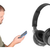 Bluetooth H3 Collapsible Wireless Headphones w/ Built-In Mic - Ships Same/Next Day!