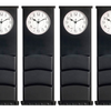 Multi Function Wall Clock w/ Chalkboard, Mail Slots and Key Hooks - Ships Same/Next Day!