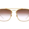 Ray-Ban Orange & Gold Sunglasses (RB3588 90612W 55MM) - Ships Same/Next Day!