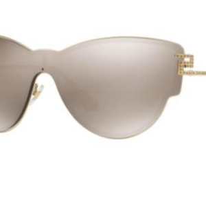 Versace Cat-Eye Sunglasses (VE2172B 12525A) - Ships Same/Next Day!