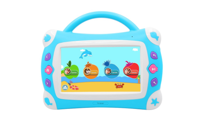 "Kids Sing Pad 7"", Quad Core 1GB DDR3/16GB Tablet W/ Microphone - Ships Same/Next Day!"