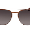 PRICE DROP: Ray-Ban Brown Metal Aviator Sunglasses (RB3570 121/11) - Ships Next Day!