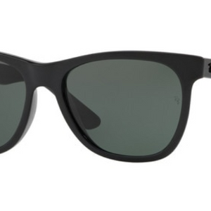 Ray-Ban Highstreet Black Wayfarer Sunglasess w/ B-15 Lens (RB4184 601/71) - Ships Same/Next Day!