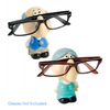 Grandma & Grandpa Glasses Holder Figurines - Ships Same/Next Day!