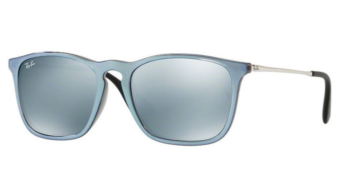 Ray-Ban Chris Injected Sunglasses (RB4187 631930) - Ships Same/Next Day!