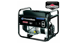 PowerBoss Gas Powered Briggs & Stratton Portable Generator (Certified Refurbished) - Ships Same/Next Day!