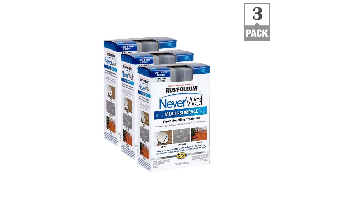 3 Pack: Rust-Oleum NeverWet Multi-Purpose Spray Kit - Repels Water, Mud, Ice & More - Ships Same/Next Day!