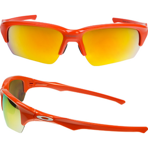 Oakley Flak Beta Orange/Yellow Sunglasses (OO9372-0465) - Ships Same/Next Day!