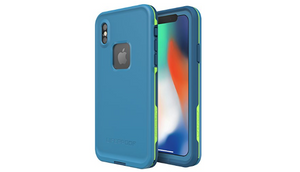 Lifeproof FRĒ Series Waterproof Case for iPhone X - Banzai Blue - Ships Same/Next Day!