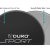 Dual Sided Gliding Exercise Discs by Aduro (2 Discs) - Ships Same/Next Day!