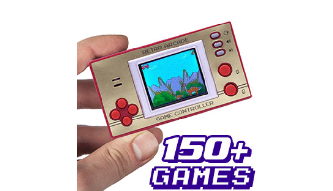 Retro Pocket Arcade with Over 150 Games - Ships Same/Next Day!