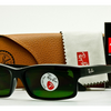 LARGE PRICE DROP: Ray-Ban Polarized Rectangular Black Classic Sunglasses (RB4151 601/2P) - Ships Next Day!