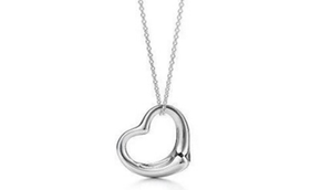 Classic Heart Pendant Necklace!