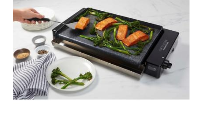 Curtis Stone Dura-Electric Nonstick Grill Griddle - Ships Same/Next Day!