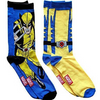 IT'S BACK!! 8 or 12 Pairs: Marvel DC Disney Assorted Super Hero Socks (Size 6-12) - Ships Next Day!
