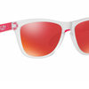 Oakley Frogskins Warehouse Clearance Sale (Store Display) - Ships Next Day! Transparent Pink