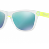 Oakley Frogskins Warehouse Clearance Sale (Store Display) - Ships Next Day! Clear Jade Sunglasses