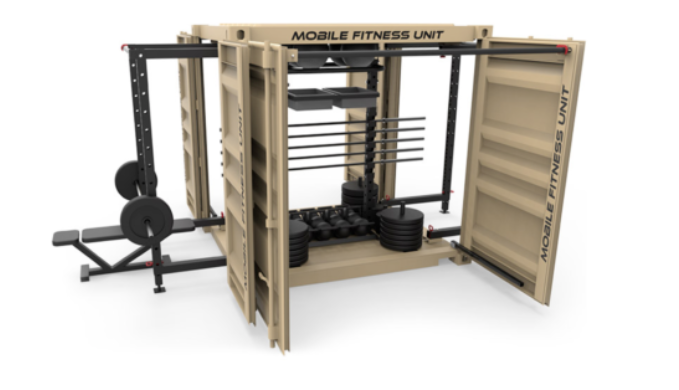 MFE Fully Equipped Tricon Mobile Fitness Unit - Ships Next Day!