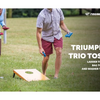 HUGE PRICE DROP: Triumph Sports Trio Toss Deluxe 3-in-1 Ladder Toss, Washer Toss and Cornhole Game - #16 On Amazon!