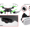 Virtual Reality Wifi Drone with Bonus VR Headset Combo Kit - Ships Next Day!