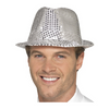 Pack of 10: New Year's Party Hats - Sequin Fedora, Cowboy, Newsboy, Cap Styles - Ships Next Day!