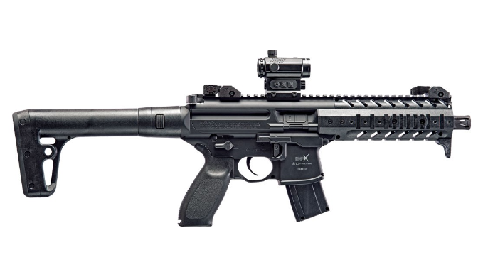 Price Drop: Sig Sauer MPX .177 Cal Co2 Powered (30 Rounds) SIG20R Red Dot Air Rifle - Ships Next Day!