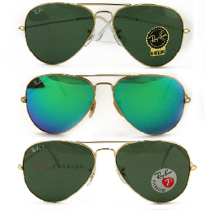 Ray-Ban Aviator Sunglasses: 3 Colors to Choose From! (RB3025) - Ships Next Day!