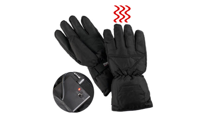 Heated Gloves (Battery Operated) - Stay Warm This Winter - Ships Next Day!