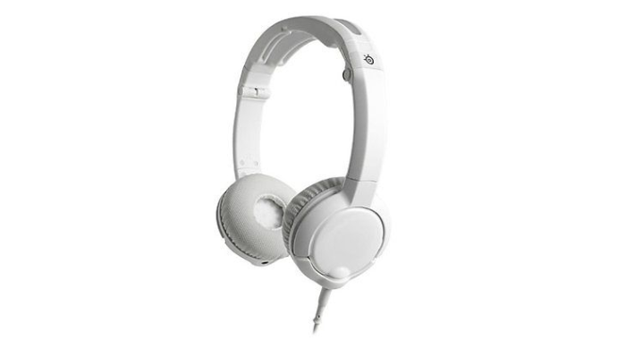 SteelSeries Foldable Flux Gaming Stereo Headphones w/ Built-in Microphone (Manufacturer Refurbished) - Ships Quick!