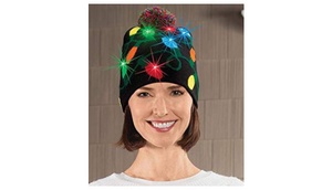 Festive Flashing Holiday Hats - Ships Next Day!