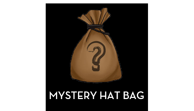 Hats/Caps Mystery Bag - 5 or 10 Pack Options - Ships Next Business Day!
