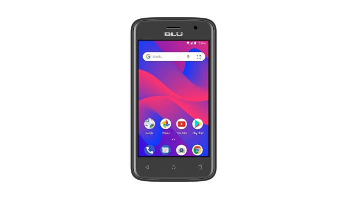 BLU C4 3G Unlocked GSM Dual-SIM w/ Front & Rear 5MP Camera's - Ships Next Day!
