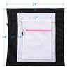 ALMOST GONE: 5 Pack Mesh Zippered Laundry Bags - 1 Extra Large, 2 Large & 2 Medium - Ships Next Day!