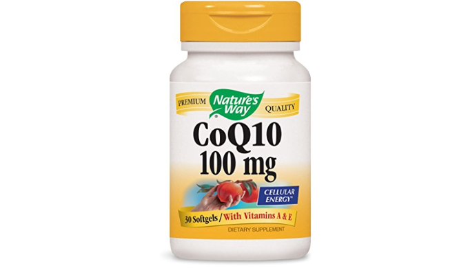 Nature's Way CoQ10 100mg (30 SoftGels): Supports Normal Heart Function & Cellular Energy Production - Ships Next Day!