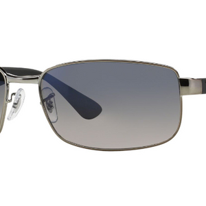 PRICE DROP: Ray-Ban Polarized Unisex Gunmetal Sunglasses - Ships Next Day!