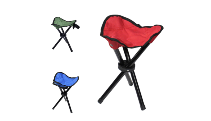 Prime 4 Pack Folding Tripod Stool Chairs W Carry Strap Perfect For All Outdoor Activities Ships Next Day Gamerscity Chair Design For Home Gamerscityorg
