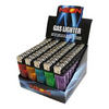 Box of 50: Neon Premium Disposable Butane Full Size Cigarette Lighters - ships Next Day!