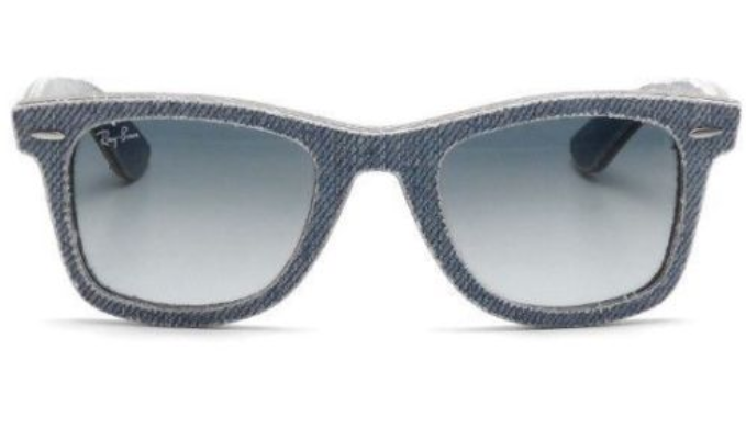 Ray-Ban Original Wayfarer Classic Light Blue Denim Sunglasses - Ships Next Day!