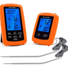 PRICE DROP: Belwares Digital Remote Smoker Dual Probe Wireless Thermometer (Includes Receiver + Transmitter)