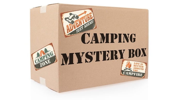 Camping Mystery Box - 10 Items Guaranteed - Ships Next Day!