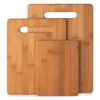 3 Piece Set: Bamboo Cutting Chopping Boards - Ships Next Day!