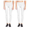 Mechaly Women's Full Length Fit Performance Nylon Leggings One Size - 2 Pack - Ships Next Day!