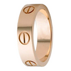 "Designer Inspired ""LOVE""  Engraved Ring 6MM Titanium Stainless Steel (3 Color Options) - Ships Next Day!"