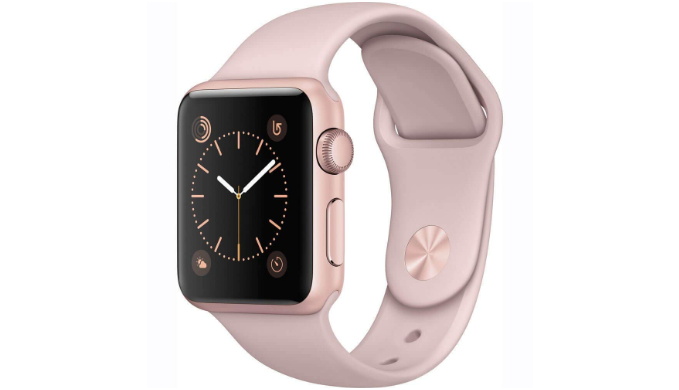 Apple Watch Gen 2 Series 1 38mm Smartwatch (Refurbished) - Rose Gold/Pink - Ships Next Day!