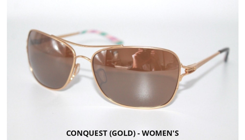 9f9d65a08ef Oakley Store Display Clearance  Sliver Crossrange Conquest And More! (Gold)  - Womens