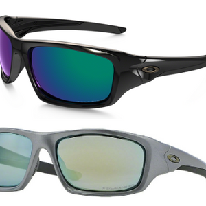Oakley Polarized Valve Sunglasses (Black or Grey) - Ships Next Day!