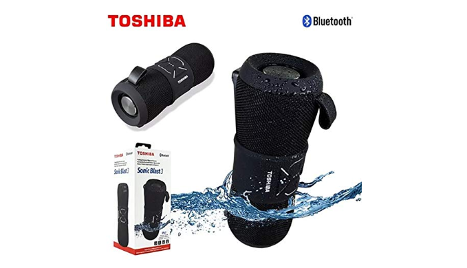 Toshiba Sonic Blast 3 Rugged Floating Wireless Speaker - Ships Next Day!